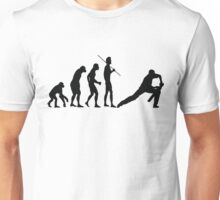 EVOLUTION TO CRICKET Unisex T-Shirt