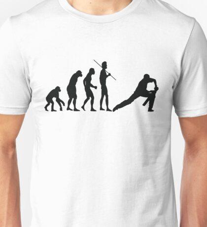 EVOLUTION TO CRICKET Unisex T-Shirt