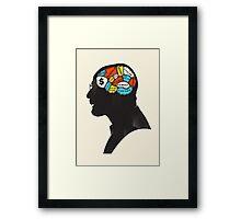 Walter Phrenology Framed Print