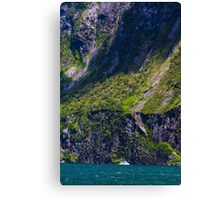 Milford Sound, Scale Canvas Print