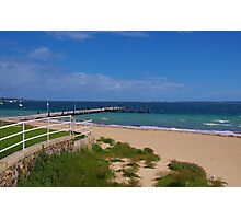 Beach - Rockingham Photographic Print