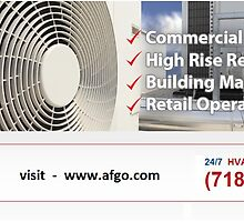 Commercial HVAC Contractor New York by afgoanderson