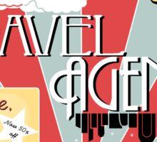 Elizabeth's travel agency Sticker