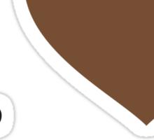 I ♥ CINNAMON Sticker