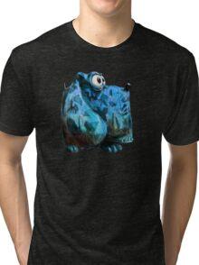 Army Dog Blue Tri-blend T-Shirt