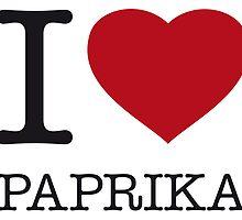 I ♥ PAPRIKA by eyesblau