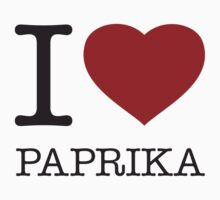 I ♥ PAPRIKA Kids Clothes