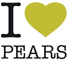 I ♥ PEARS by eyesblau