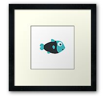 Small Fish Framed Print