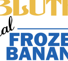 Bluth's Frozen Banana Sticker