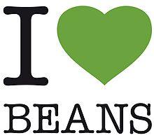 I ♥ BEANS by eyesblau
