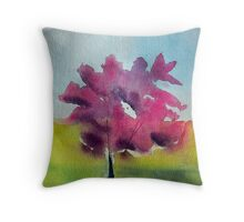 A Tree Grows InVancouver, BC Throw Pillow