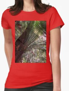 A Canopy of Green Womens Fitted T-Shirt