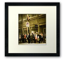 Broadway - Large Framed Print