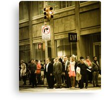 Broadway - Large Canvas Print