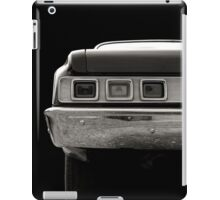 Taillight (black&white) iPad Case/Skin