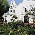 Old Mission San Diego by Gordon  Beck