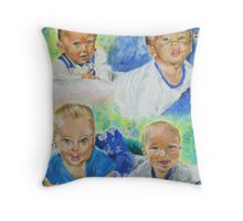 Mother's Love and Joy Throw Pillow