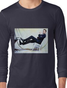 Tipped  Long Sleeve T-Shirt