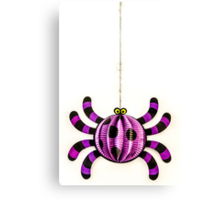 Funny Spider Canvas Print