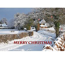 Christmas Card Challenge Entry. Photographic Print