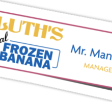 Mister Manager Sticker