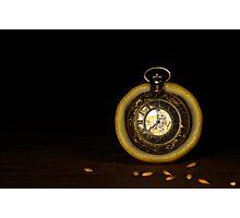 Time is a Lemon Photographic Print