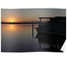 St. Johns River at Dawn Poster