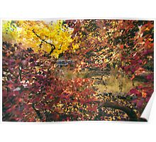Autumn at the Park Poster