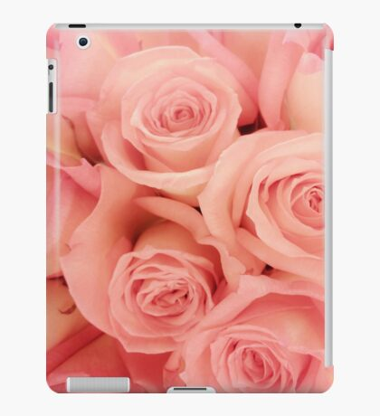 Pink roses - phone skin, iPad cover, and print iPad Case/Skin