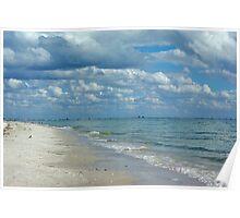Sanibel Beach Poster
