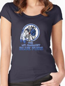The Bluefurs Women's Fitted Scoop T-Shirt