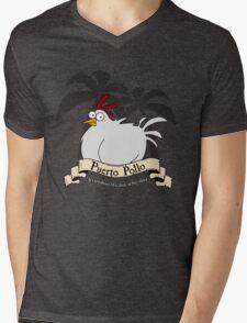 Puerto Pollo Mens V-Neck T-Shirt
