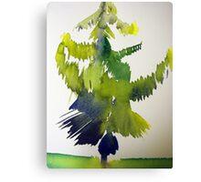 A Tree Grows In Calgary, Alberta #3 Canvas Print