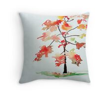 A Tree Grows In Chinatown, Vancouver, BC Throw Pillow