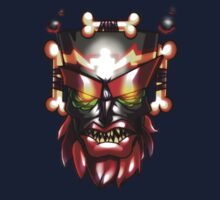 Uka uka, Crash Bandicoot mask! by Robspk