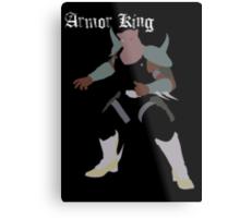 Armor King Metal Print