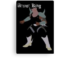 Armor King Canvas Print