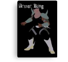 Armor King Canvas Print
