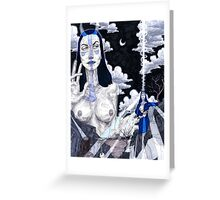 The Priestess Greeting Card