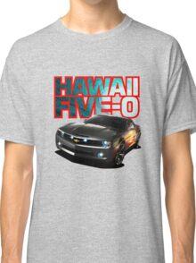 Hawaii Five-O Black Camaro (Red Outline) Classic T-Shirt