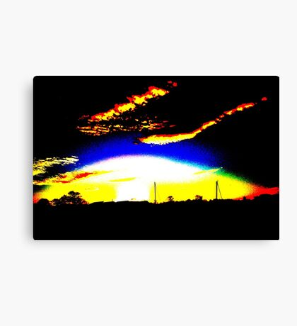 Armageddon In East Lothian? Canvas Print