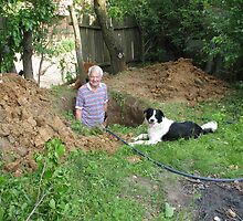 Patrick Thinks It's Great Digging Holes by Dennis Melling