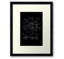 F-14D Tomcat specifications Framed Print