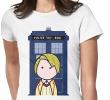 The 5th Doctor Womens Fitted T-Shirt
