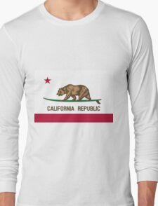 Surfing California Bear Long Sleeve T-Shirt