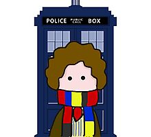 The 4th Doctor Photographic Print