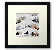 Mount Royal, Montreal, watercolour Framed Print