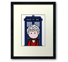 The 3rd Doctor Framed Print