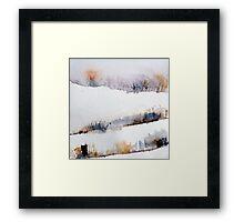 Mount Royal #2, Montreal, watercolour Framed Print